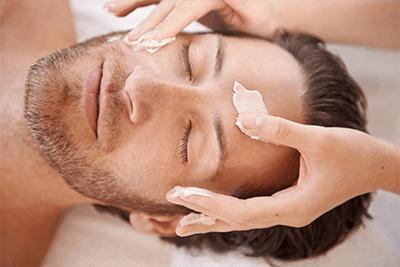 ansigtsbehandling for mænd